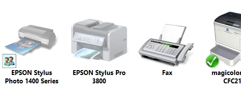 Epson Win 8 Driver Connection